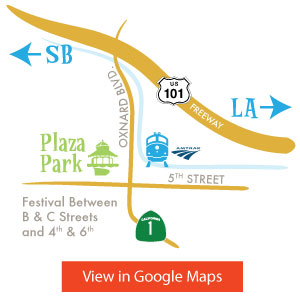 Oxnard Salsa Festival Map