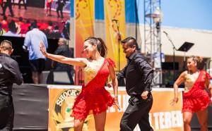 Community dance showcase dancers