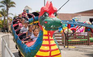 Kids ride in Festival kids zone