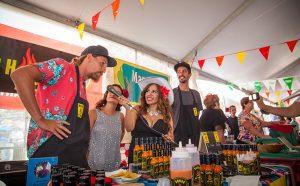 Salsa Tasting Tent vendor
