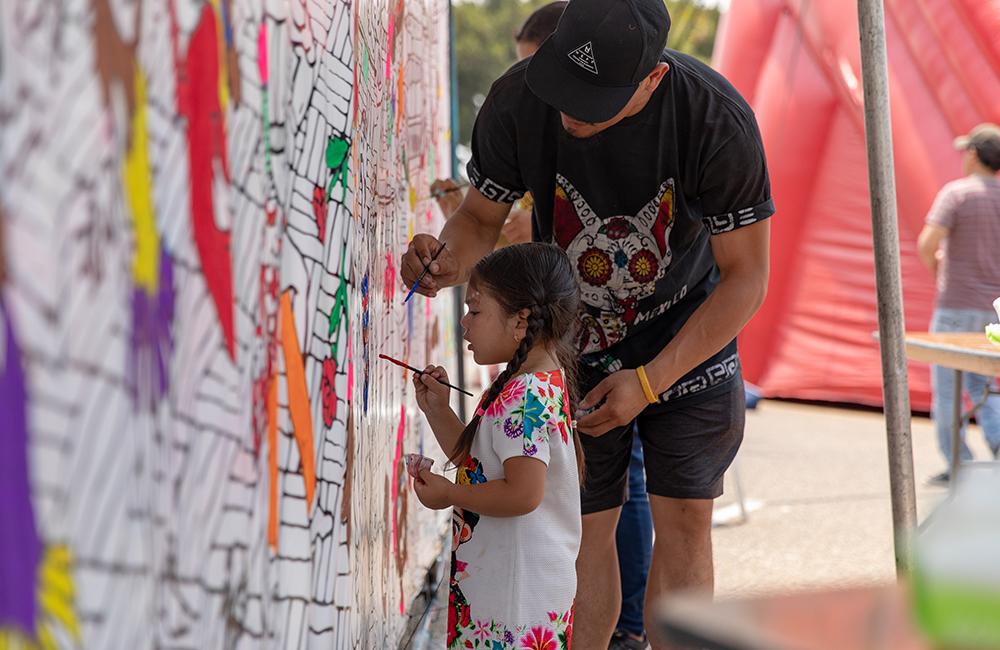 Oxnard Salsa Festival mural