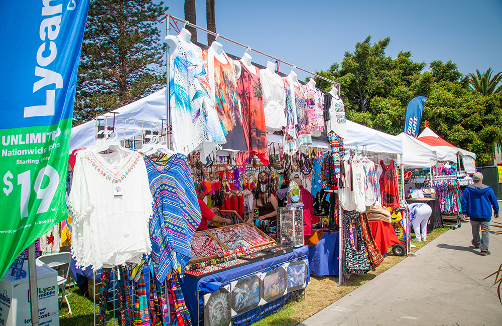 Salsa Festival vendor
