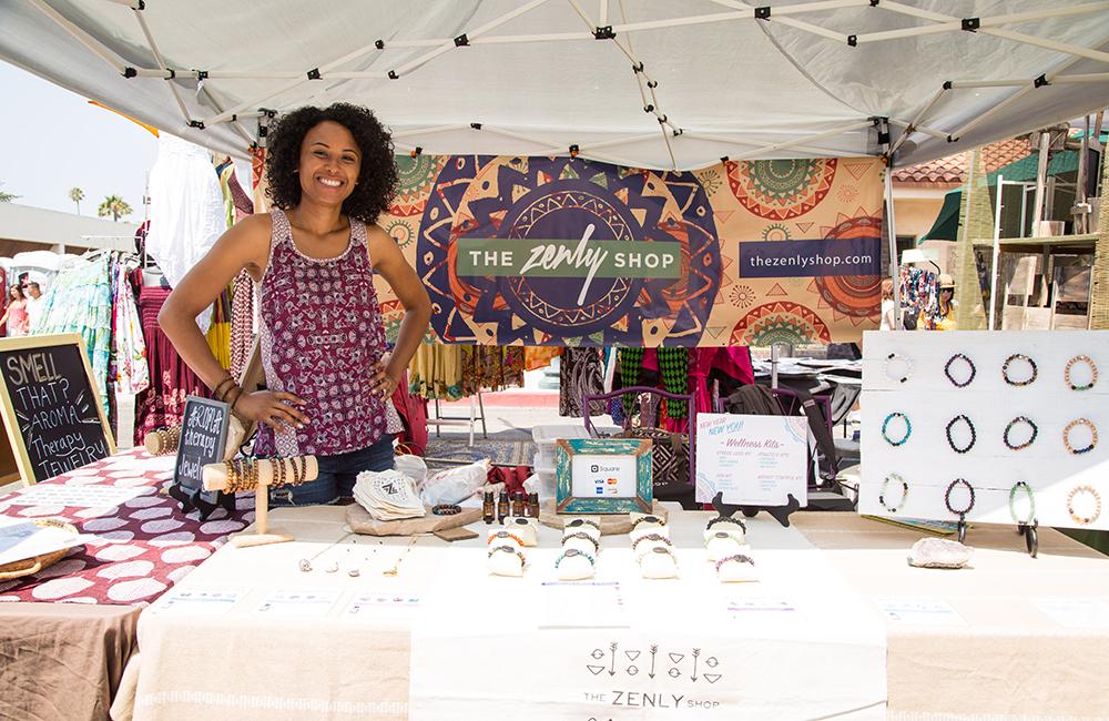 Festival vendor