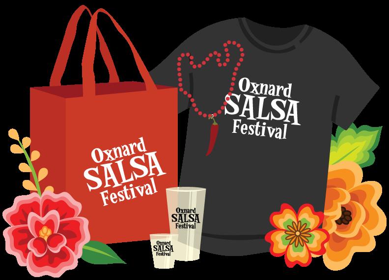 Oxnard Salsa Festival Souvenirs